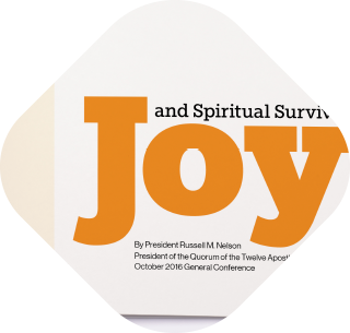 Joy and Spiritual Survival gift booklet thumbnail