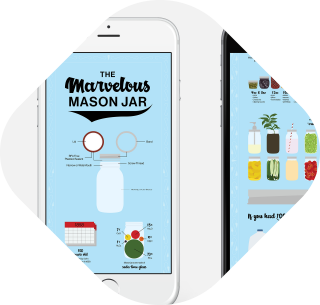 The Marvelous Mason Jar infographic thumbnail