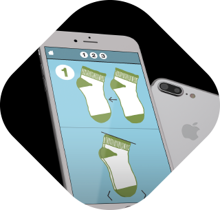 Sock folding app thumbnail
